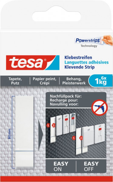 tesa® Klebestreifen Tapete & Putz