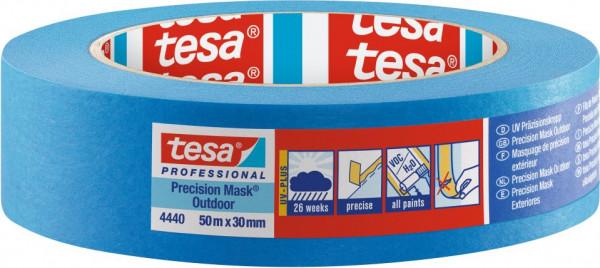 tesa® Präzisionskrepp Außen Plus 50 m x 30 mm
