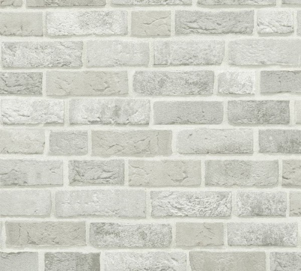A.S. Création Vliestapete Trendwall, Grau Weiß 371601