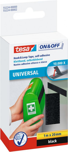tesa® On & Off® Universal Klettband