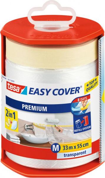 tesa® Easy Cover® Premium M Abdeckfolie im Abroller 33 m x 550 mm