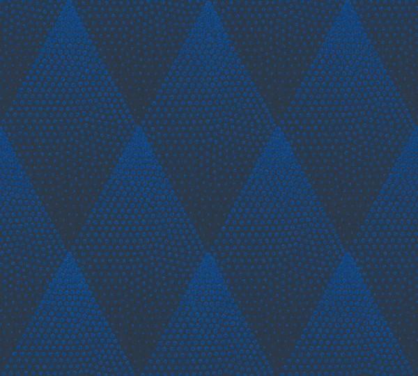 Livingwalls Vliestapete New Walls, 50's Glam Flitter Rombus Blau 374191