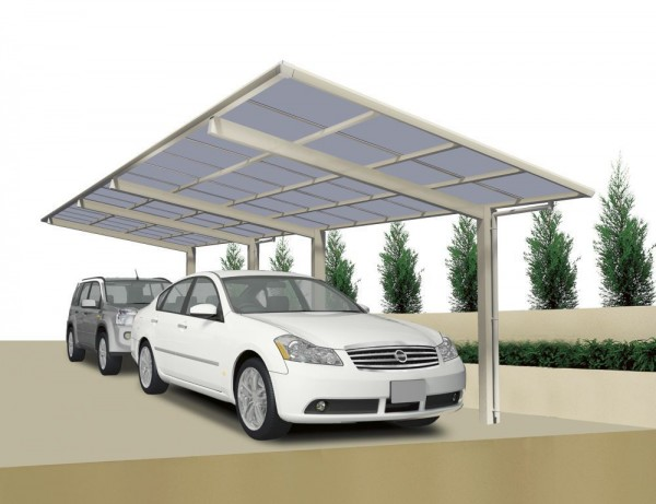 Ximax Design-Carport Linea Typ 60 - Tandem Ausführung