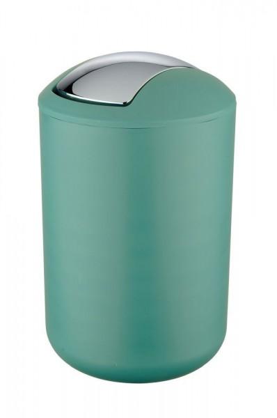 WENKO Schwingdeckeleimer Brasil Grün L, 6,5 Liter