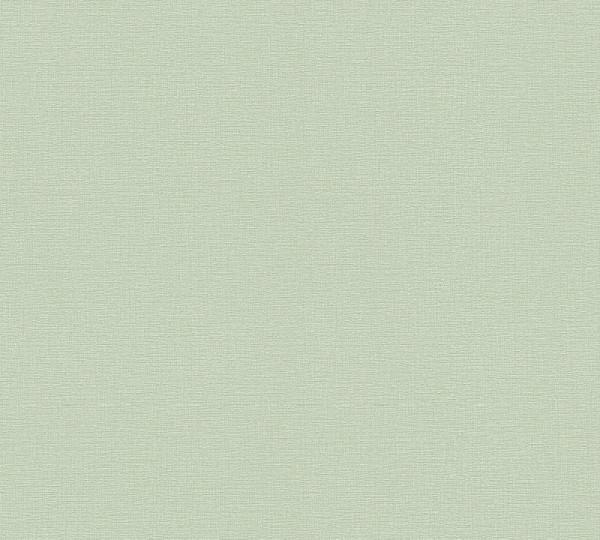A.S. Création Vliestapete Greenery, Uni Hellgrün 367136