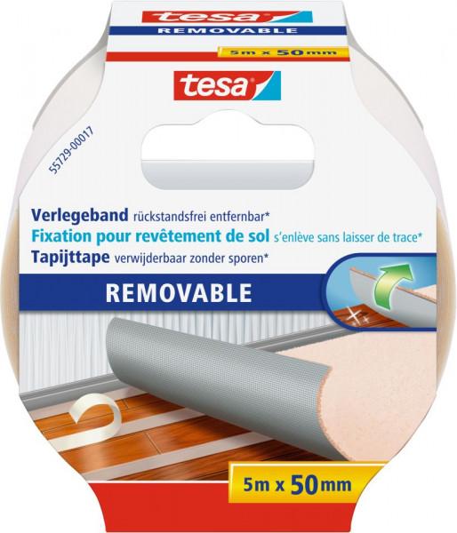 tesa® Verlegeband, rückstandsfrei entfernbar