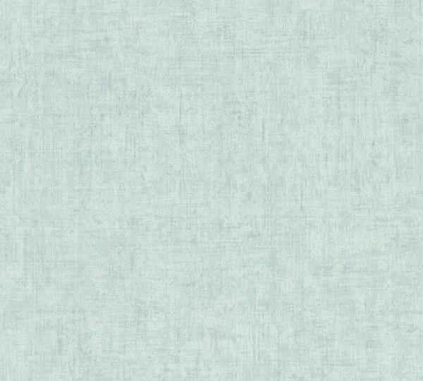 A.S. Création Vliestapete Greenery, Uni Blau 373345