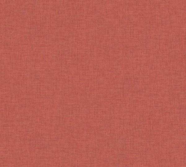 Livingwalls Vliestapete New Walls, Uni Textil Rot 374309
