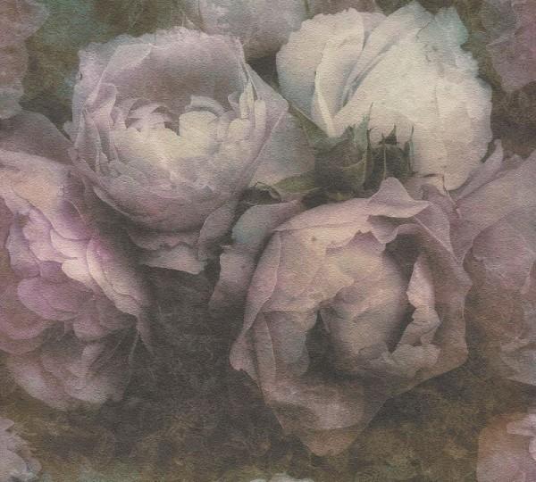 Livingwalls Vliestapete New Walls, Romantic Dream Rose Flieder 373922