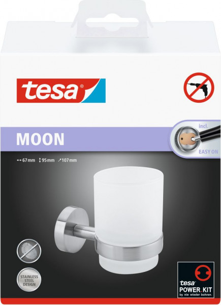 tesa® MOON Mundglashalter