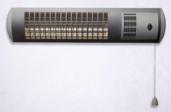 Ximax Infrarotstrahler mit Stecker und Ventilator