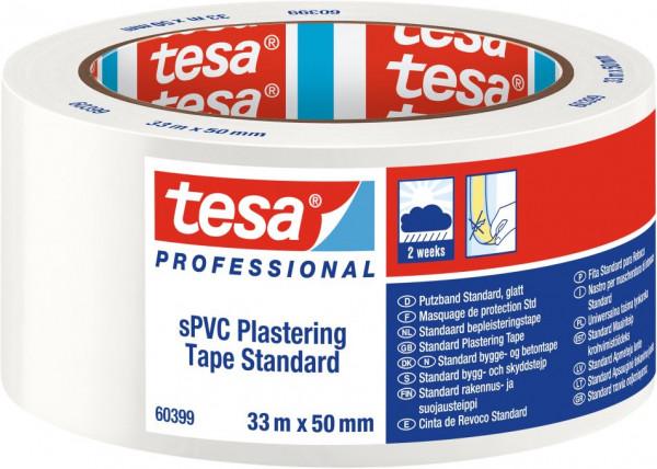 tesa® PVC Putzband Standard, weiß 33 m x 50 mm