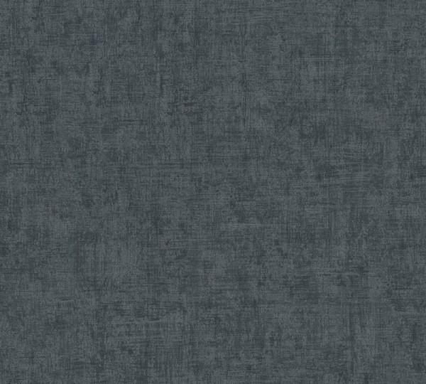 A.S. Création Vliestapete Greenery, Uni Schwarz Grau 373346