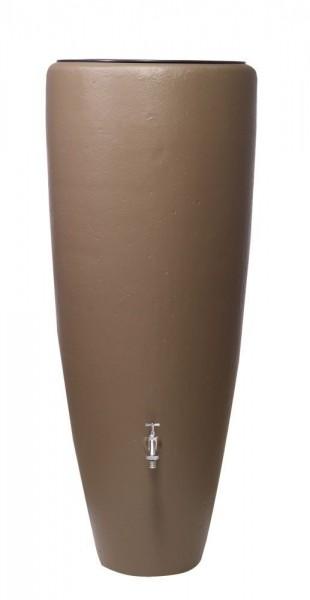 Garantia 2in1 Wasserbehälter 300 L mit Pflanzschale, Taupe