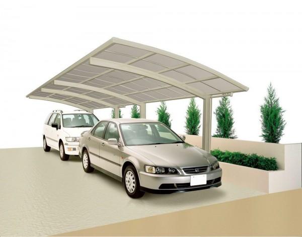 Ximax Design-Carport Portoforte Typ 60 - Tandem Ausführung