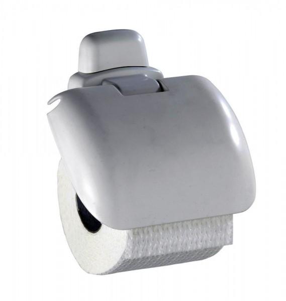 WENKO Toilettenpapierhalter Pure mit Deckel