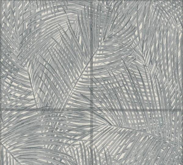 A.S. Création Vliestapete Sumatra, Grau Schwarz Weiß 373722