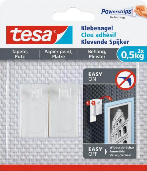 tesa® Klebenagel Tapete & Putz