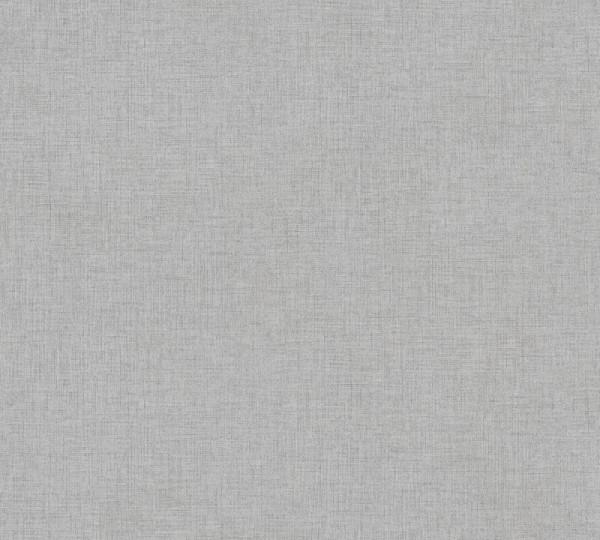 Livingwalls Vliestapete New Walls, Uni Textil Dunkelgrau 374304