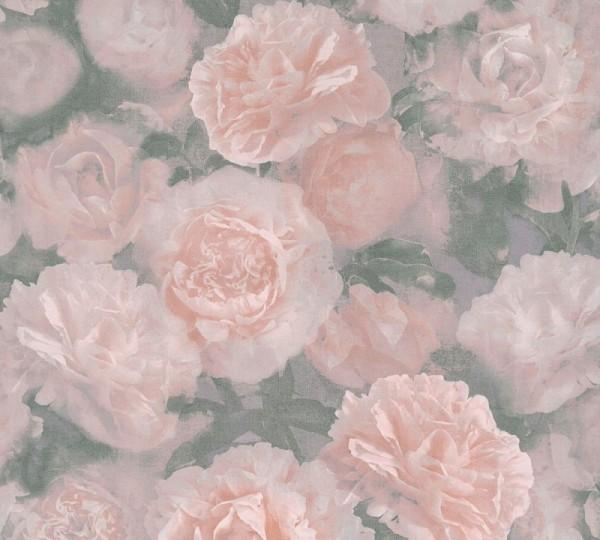 A.S. Création Vliestapete Neue Bude 2.0 Ed. II, Barock Rose Rosa 374021