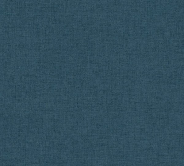Livingwalls Vliestapete New Walls, Uni Textil Blau-Grün 374315