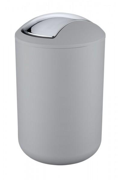 WENKO Kosmetikeimer Brasil Grau L, 6,5 Liter