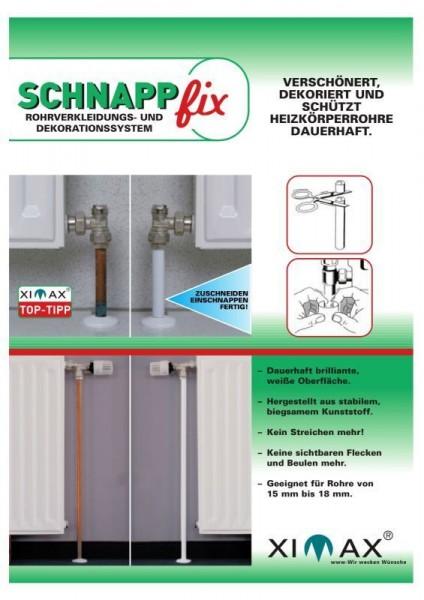 Ximax Schnappfix Rohrverkleidung 3-fach (1000 mm)