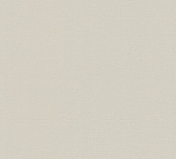 A.S. Création Vliestapete Greenery, Uni Beige Grau 367134
