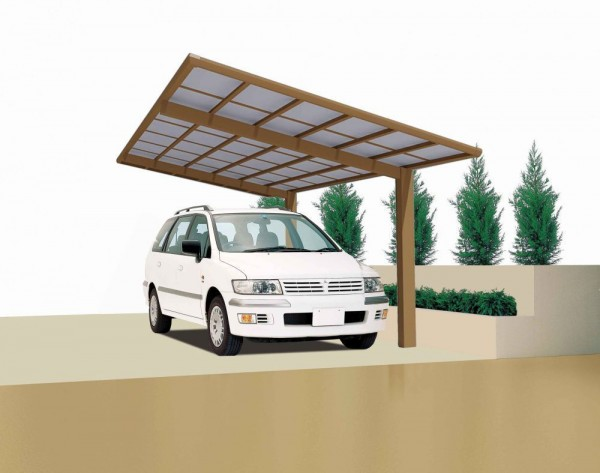 Ximax Design-Carport Linea Typ 110 - Sonderbreite XS