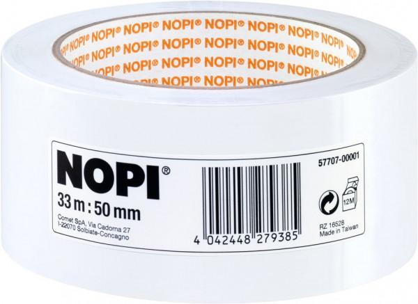 tesa® NOPI® Putzband, weiß 33 m x 50 mm