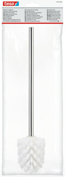 tesa® Ersatz-Toilettenbürste weiß