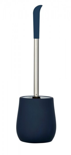WENKO WC-Garnitur Sydney Blau Matt, Keramik mit Soft-Touch Beschichtung