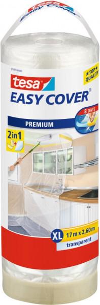 tesa® Easy Cover® Premium XL Abdeckfolie Nachfüllrolle 17 m x 2600 mm