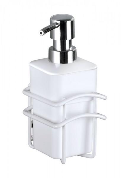 WENKO Seifenspender Classic Plus, 300 ml, mit hochwertigem Rostschutz