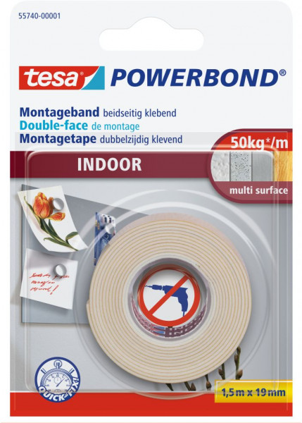 tesa® Powerbond® Montageband Indoor