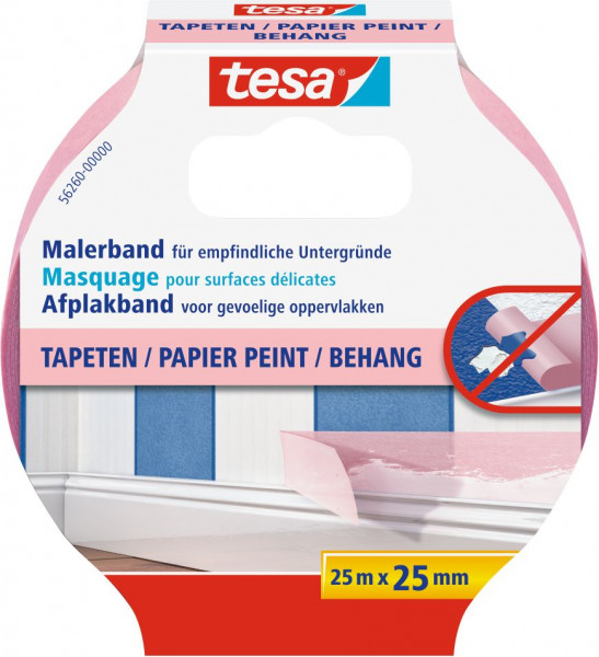 tesa® Malerband Tapeten