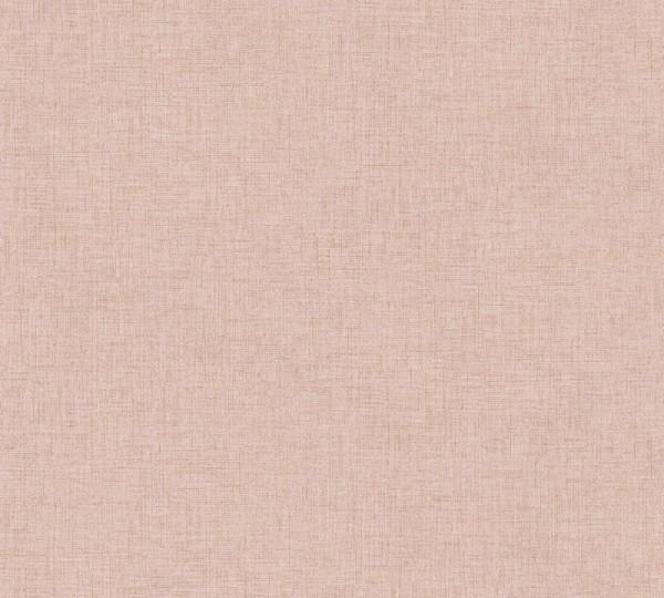 Livingwalls Vliestapete New Walls, Uni Textil Rosé 374301