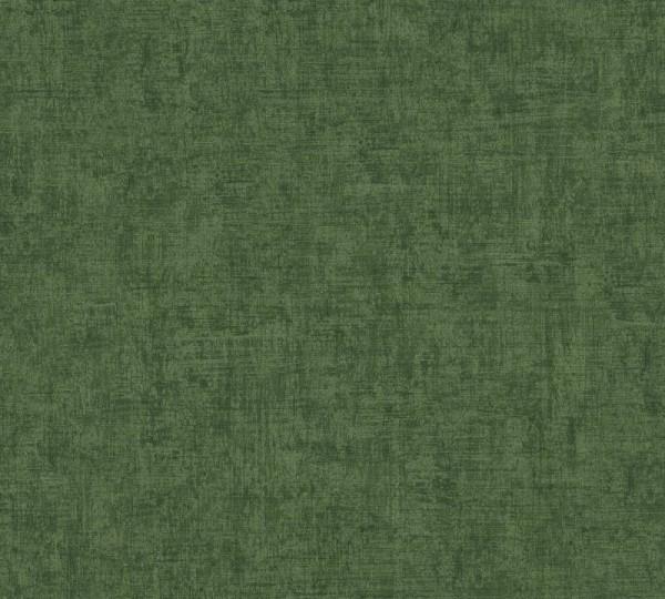 A.S. Création Vliestapete Greenery, Uni Dunkelgrün 373347