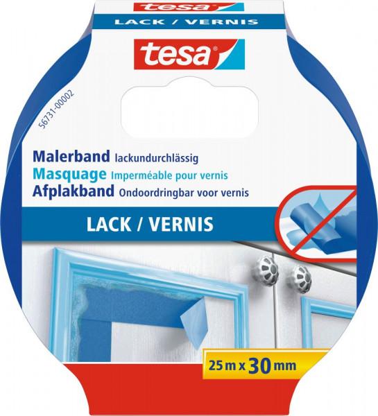 tesa® Malerband für Lacke 25 m x 30 mm