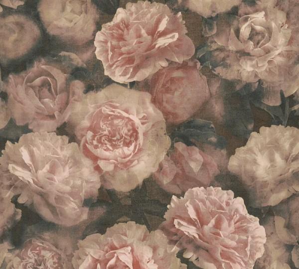 A.S. Création Vliestapete Neue Bude 2.0 Ed. II, Barock Rose Altrosa 374022