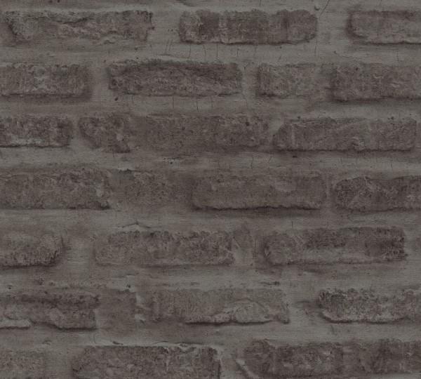 Livingwalls Vliestapete New Walls, Loft Living Stein Anthrazit 374223