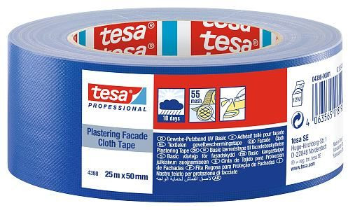 tesa® Putzband Gewebe Basic 25 m x 50 mm