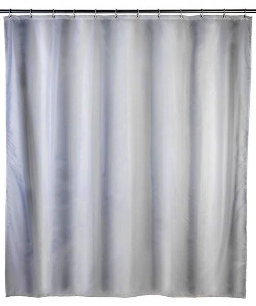 WENKO Duschvorhang Uni Weiß, 120 x 200 cm