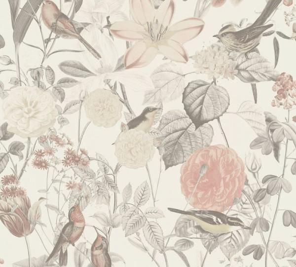 A.S. Création Vliestapete Exotic Life, Grau Rosa 372762