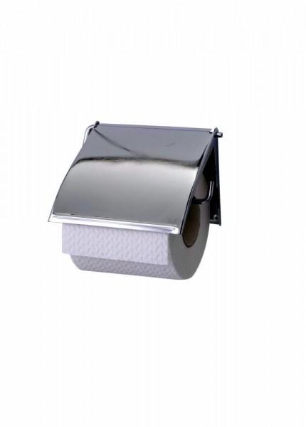 WENKO Toilettenpapierhalter Cover chrom