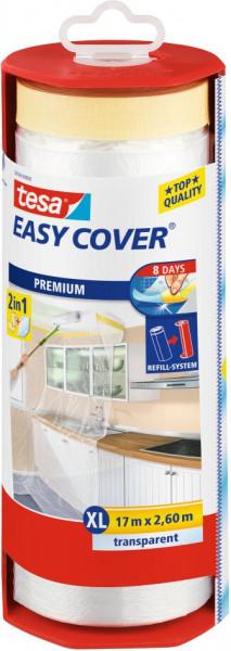 tesa® Easy Cover® Premium XL Abdeckfolie im Abroller 17 m x 2600 mm