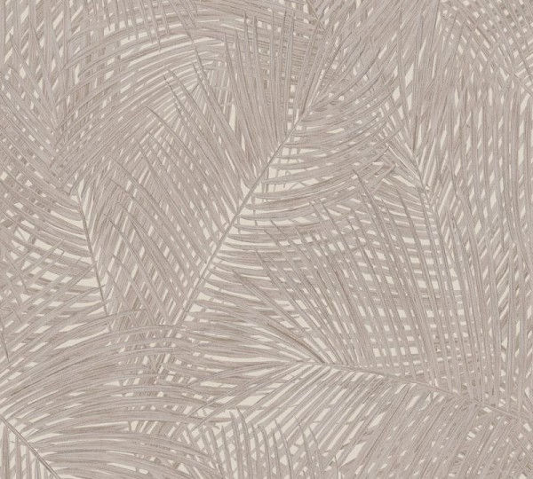 A.S. Création Vliestapete Sumatra, Beige Creme Braun 373712