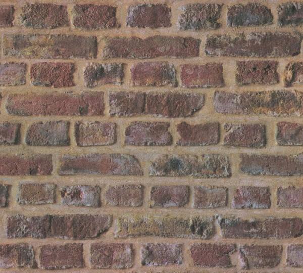 A.S. Création Vliestapete Trendwall, Beige Braun Rot 371611