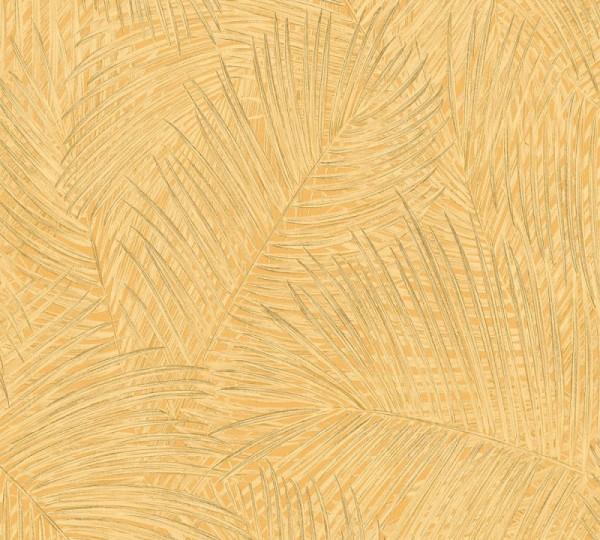 A.S. Création Vliestapete Sumatra, Gelb Orange 373711