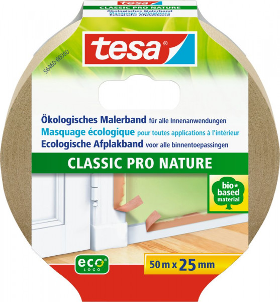 tesa® Malerband Classic Pro Nature